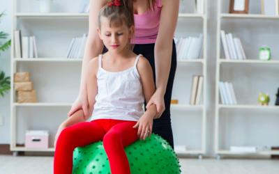 Kinderfysiotherapie; in dit geval wél kinderspel